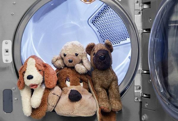 Стирка игрушек в стиральной машине