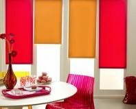 Яркие рулонные шторы