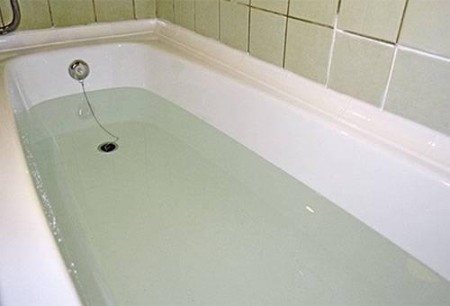 Ванна с уксусным раствором
