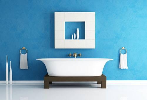 Чистая ванная