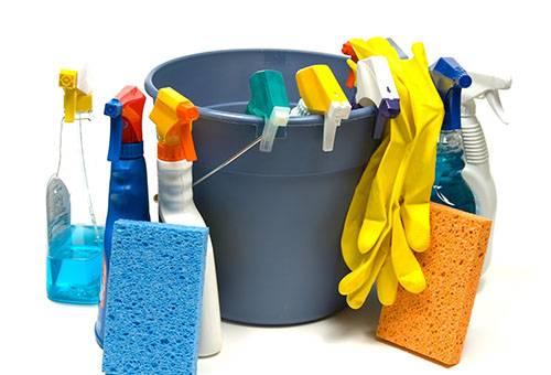 Средства для мытья натяжного потолка