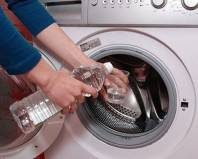 Уксус против накипи в стиральной машине