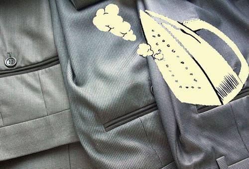 Утюжка мужских брюк
