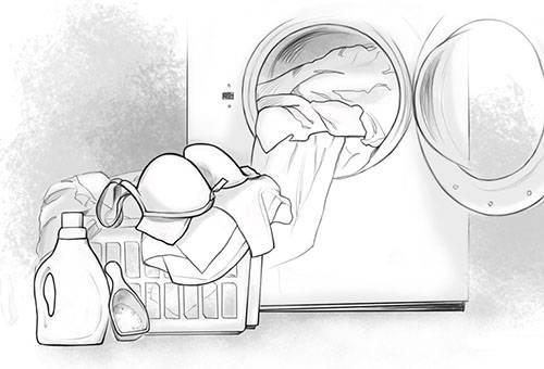 Как стирать полиэстер в стиральной машине и вручную?