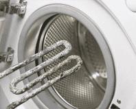 Накипь на нагревательном элементе стиральной машины