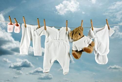Сушка белья и игрушки новорожденного