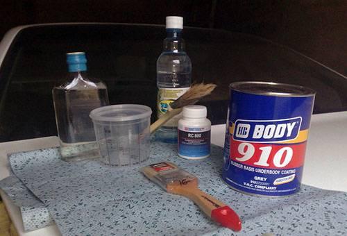 Средства для удаления ржавчины с ортофосфорной кислотой