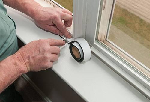 Герметизация окна