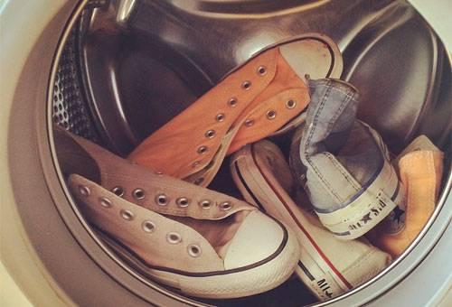 кросовки в стиральной машине