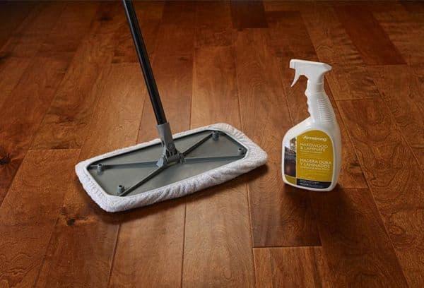 Чем отмыть ламинат в домашних условиях 28