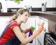 чистка кухонной мебели