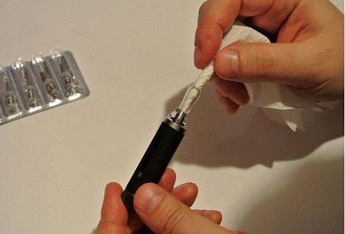 Электронная сигарета чистка