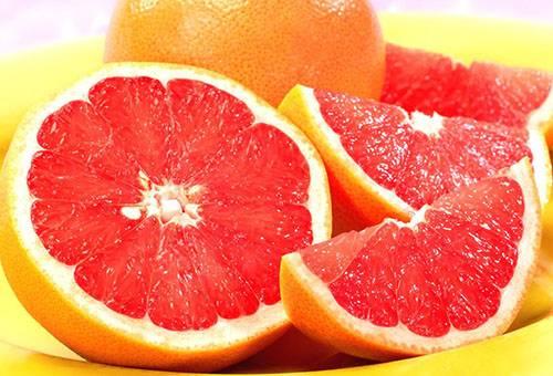 Свежий грейпфрут