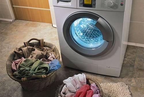 Подготовка к стирке при помощи стиральной машины