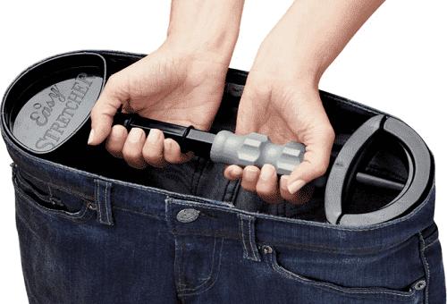 растягивание штанов в пояснице