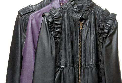 Как разгладить кожаную куртку, юбку, плащ в домашних условиях?