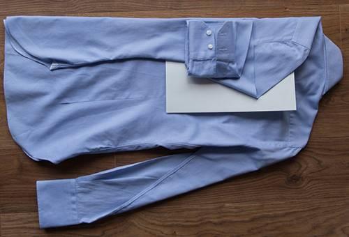 Складывание рубашки