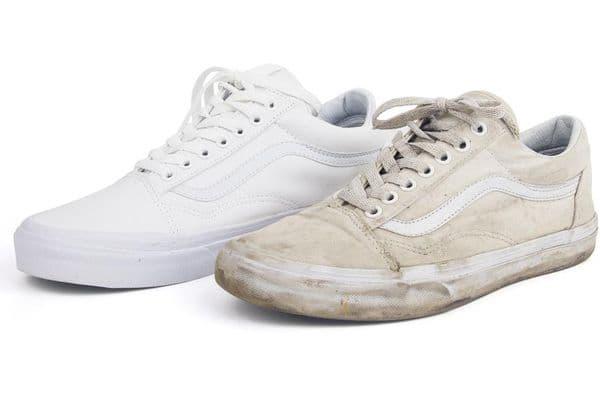 Грязная и чистая обувь