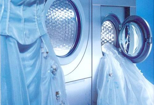 Стирка свадебного платья в машинке