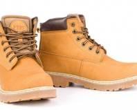 Новая обувь из нубука