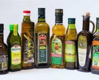 Оливковое масло в стеклянной таре