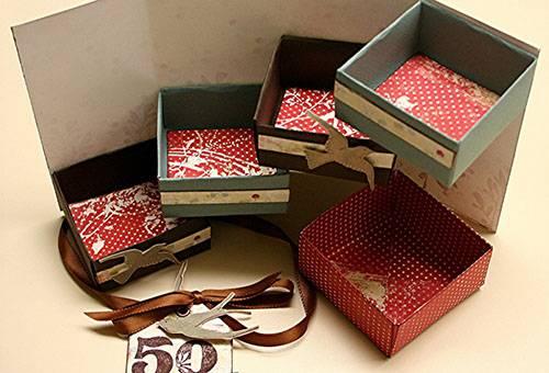 Самодельные коробочки для хранения