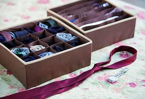 Коробка для домашнего текстиля