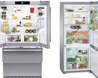 полный продуктами холодильник