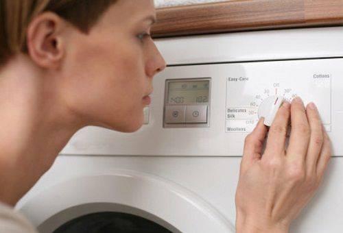 установка стирального режима