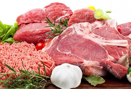 Свежее мясо и фарш