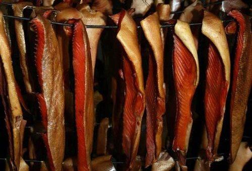Банки с рыбой можно держать в темном, прохладном месте до 4 месяцев, а летом хранить в холодильнике.