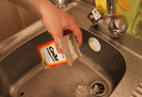 Прочистка канализации содой и уксусом