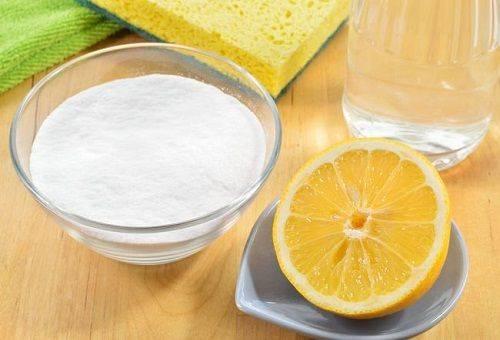 сода уксус и лимон