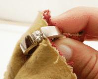 чистка бриллианта