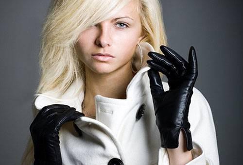 Начищенные кожаные перчатки