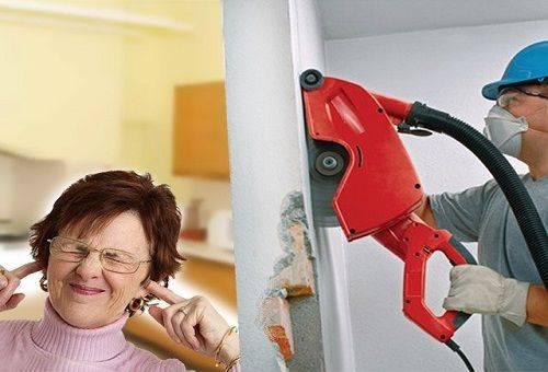 шум от ремонта в квартире