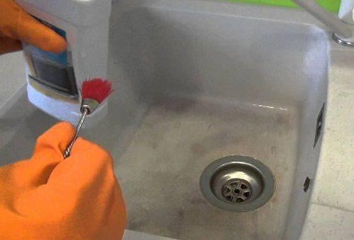 средство для чистки мойки из искусственного камня