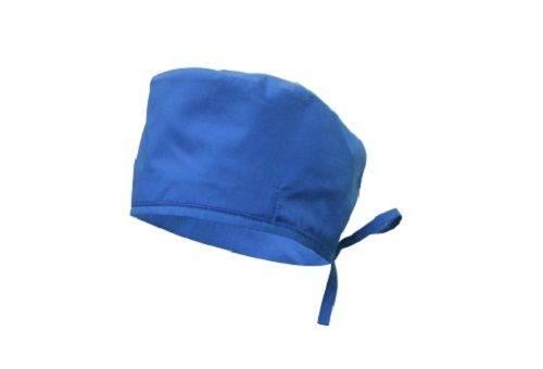 синий медицинский колпак