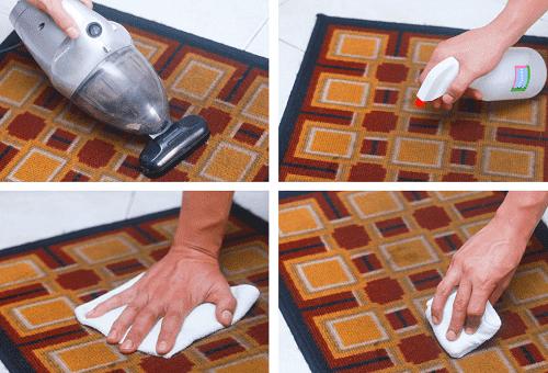 Как помыть ковер в домашних условиях 714
