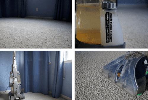 чистка ковра пароочистителем