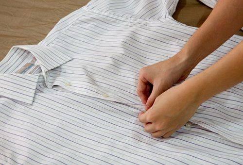 глажка рубашки