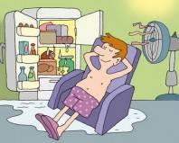 Неправильная разморозка холодильника
