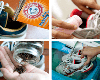 методы удаления запаха в обуви