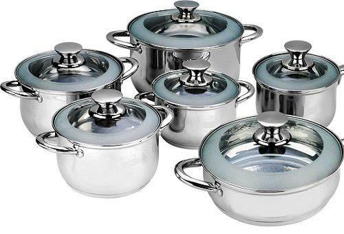 кастрюли для приготовления пищи