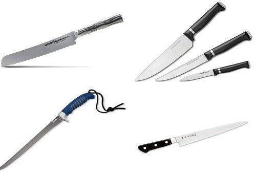 виды ножей