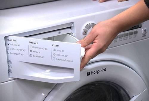Подготовка стиральной машины к стирке