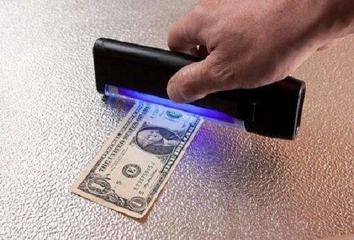 проверка доллара на подлинность