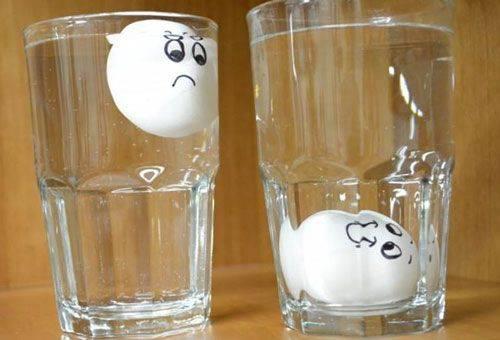 яйца в стаканах