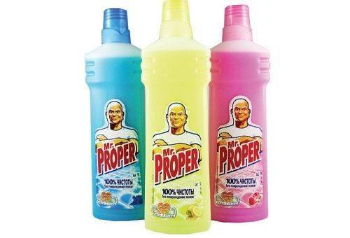 средство для мытья полов Мистер Пропер