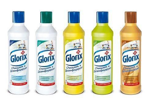 средство для мытья полов Глорикс